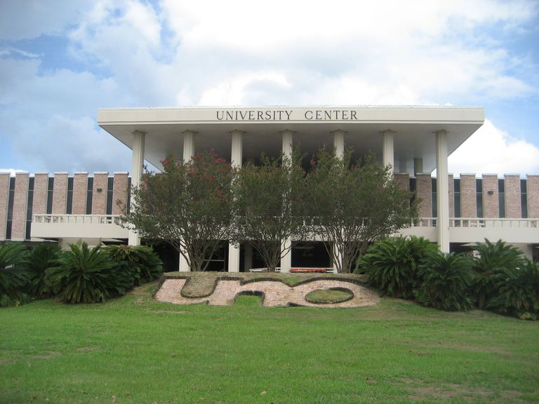University Center at the University of New Orleans.
