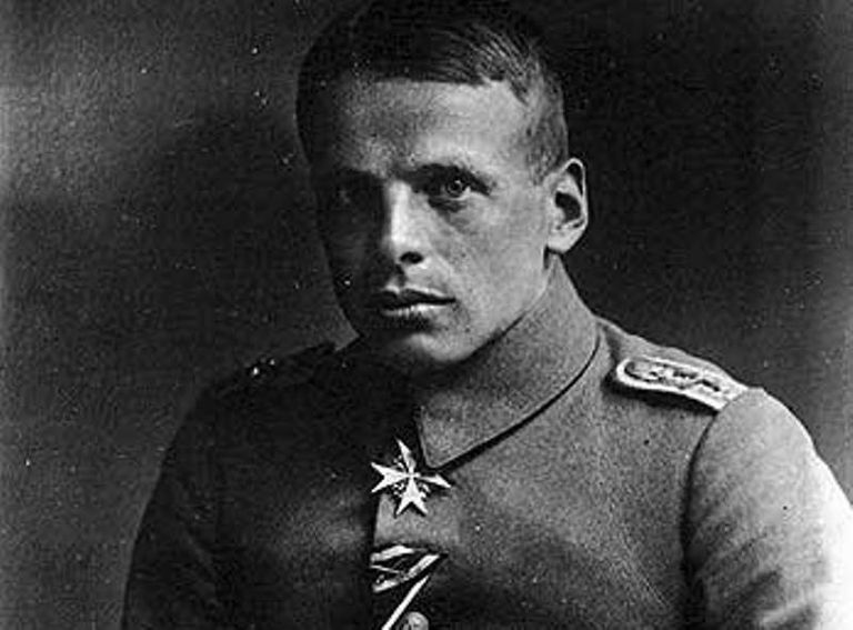 Oswald Boelcke during World War I