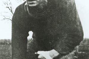 Picture of Ronald Reagan on the Eureka College Football Team.