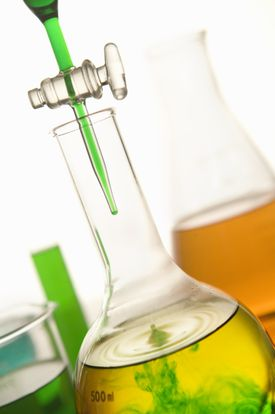 Mixing an acid and a base to produce a neutral solution is neutralization.