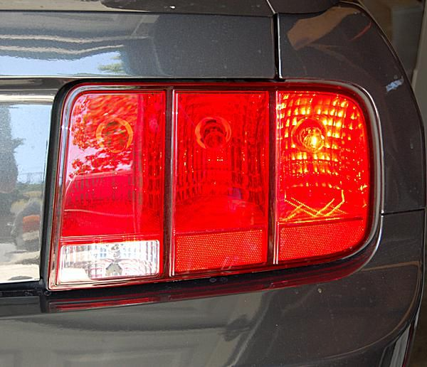 A 2008 Ford Mustang Taillight Embly