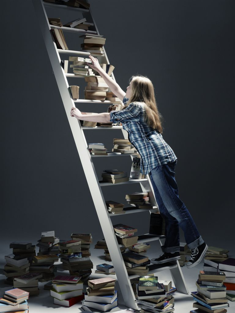 Scaffolding instruction for students is like moving students up a ladder of learning