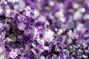 Close-up of Amethyst Geode