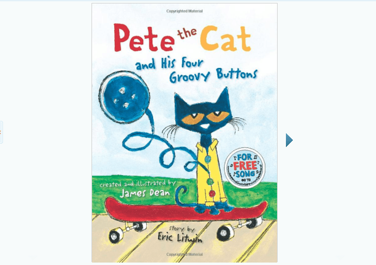 Pete The Cat And His Four Groovy Ons Book