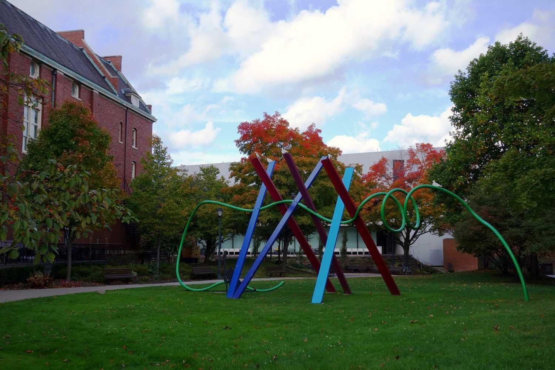 Taide Case Western Reserve University -kampuksella