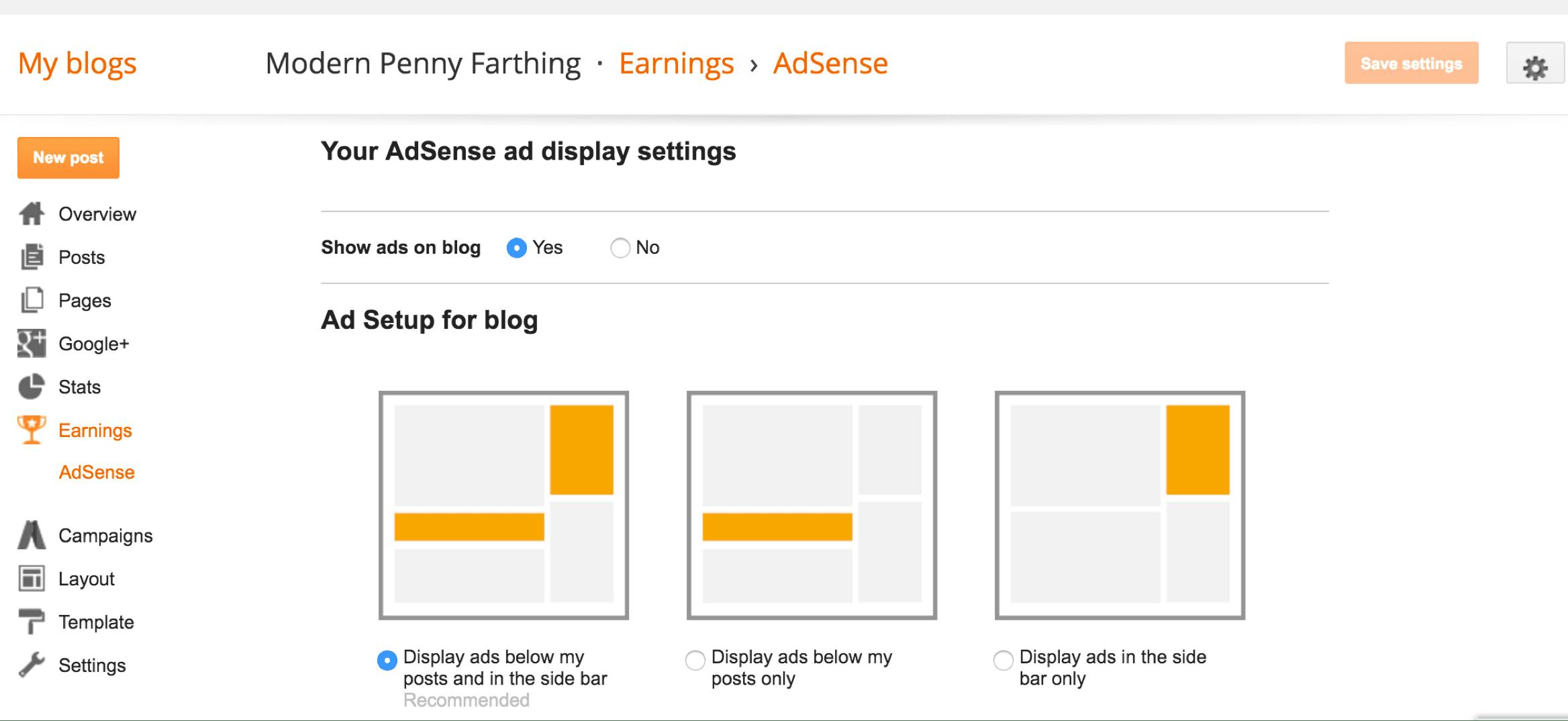 كيفية ربط حساب أدسنس بمدونة بلوجر (شرح بالصور)