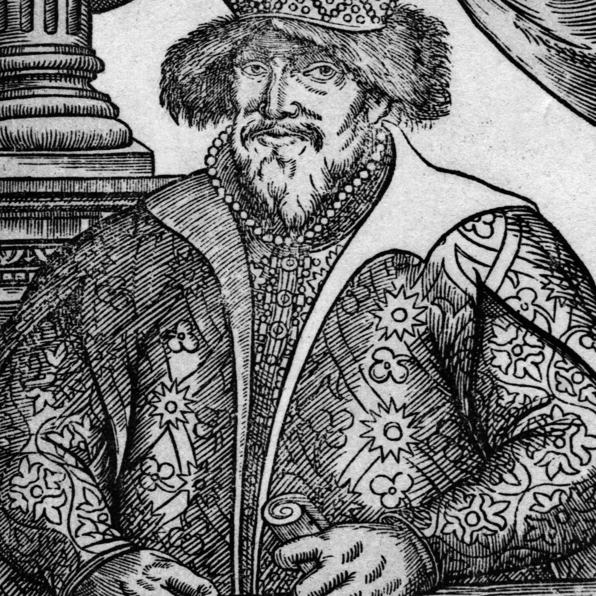 Tsar Ivan IV (1530 - 1584), Ivan The Terrible of Russia, circa 1560