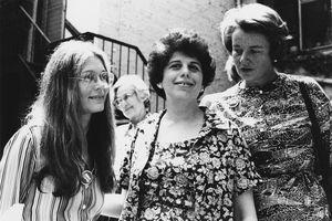 American Feminists Gloria Steinem, Ronnie Eldridge, and Patricia Carbine, 1970s