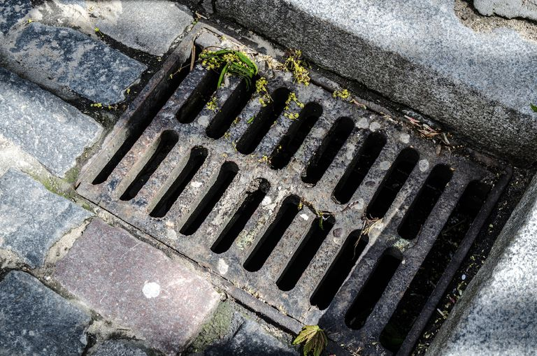 Image of a sewer on the street