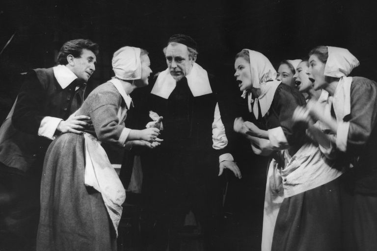 Bristol Old Vic Company production of Arthur Miller's play 'The Crucible'