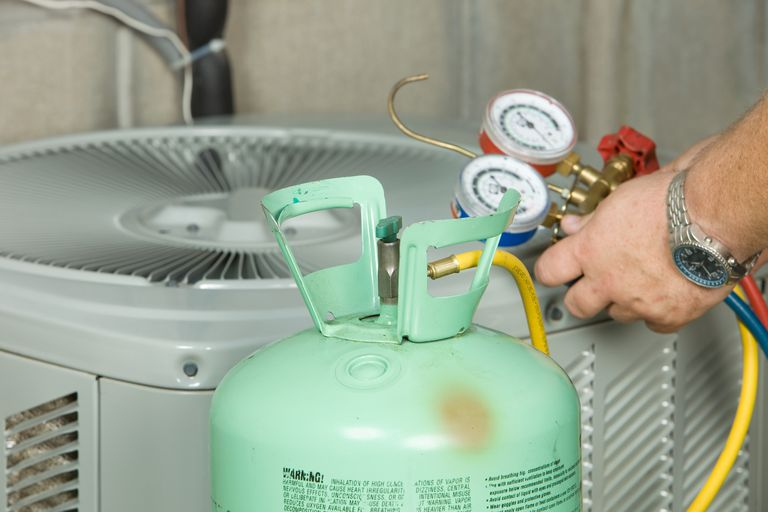 Chlorofluorocarbons are excellent refrigerants, although they pose an environmental hazard.