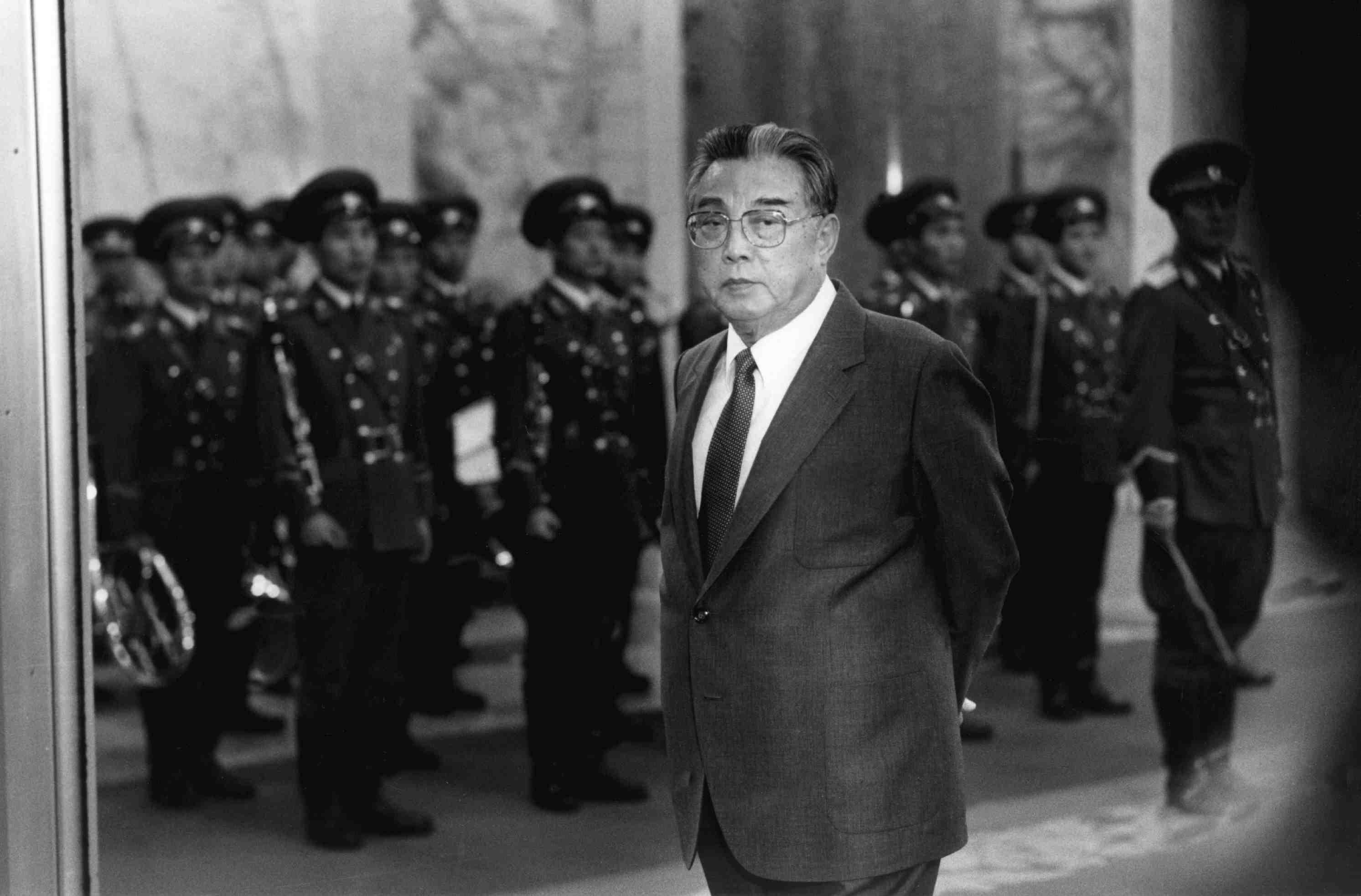 North Korean leader Kim Il Sung