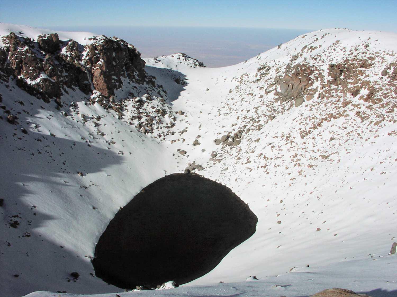 Crater Lake of Licancabur, Chile