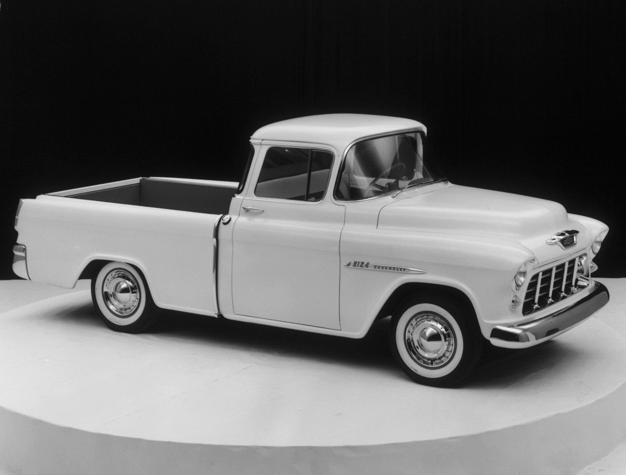Chevy Trucks History 1918 1959 1957 Cameo Pickup Truck 1955 Carrier
