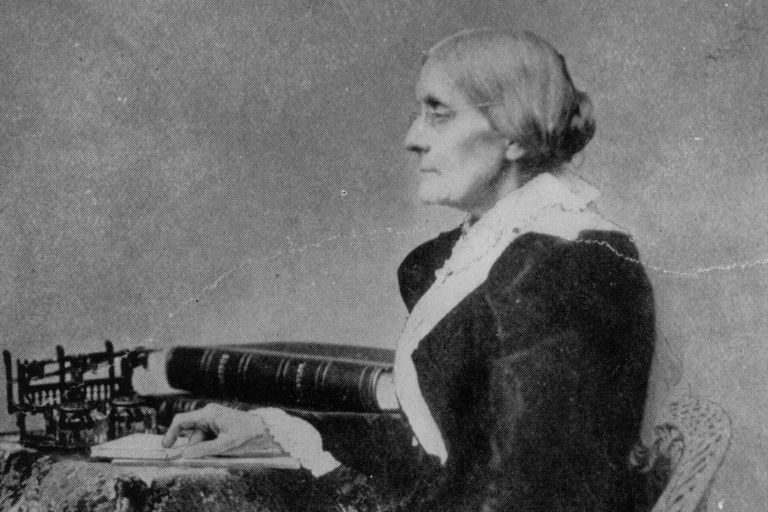 Susan B. Anthony, circa 1890