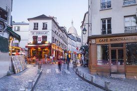stores on street in Paris