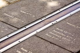 Photograph of the Greenwich Meridian