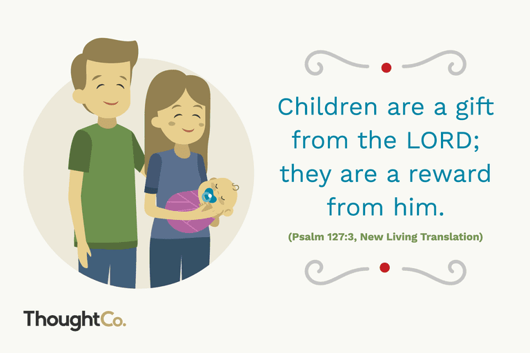 13 bible verses about babies for new parents