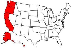 West Coast States