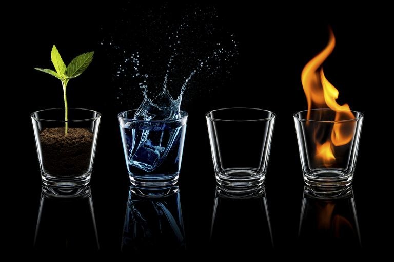 the four elements temperaments and holistic healing