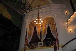 Abraham Lincoln's Box at Ford's Theatre - Washington, D.C.