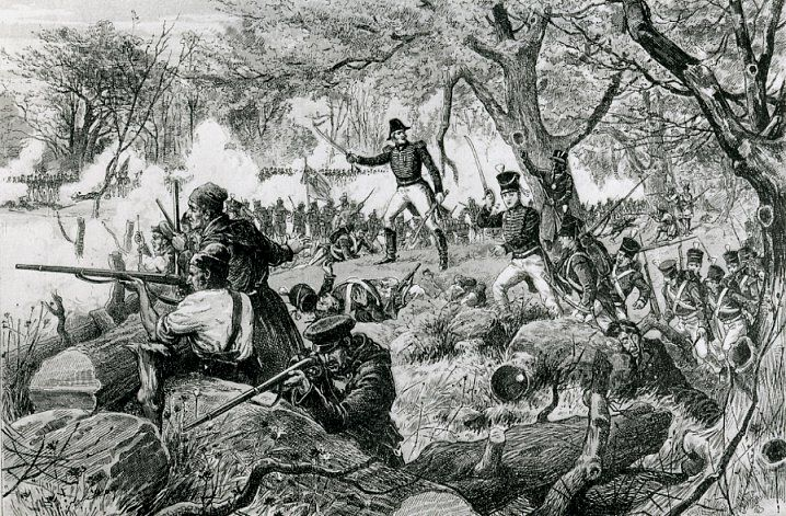 Fighting at Chateauguay