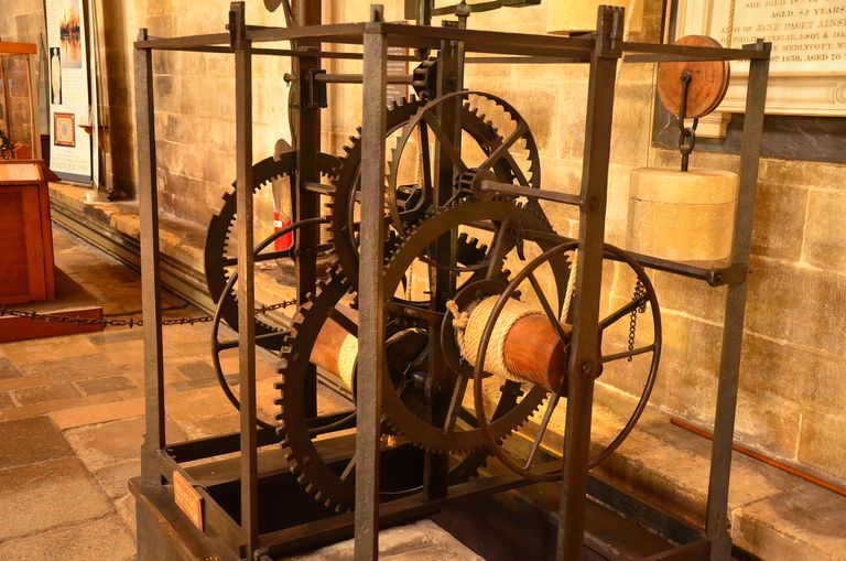 14th Century Clockworks, Salisbury Cathedral