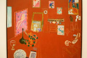 Matisse's Red Studio