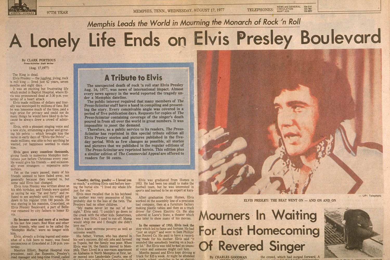 Controversy Around Elvis Presley's Death