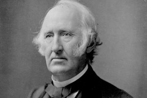 Photograph of abolitionist Wendell Phillips