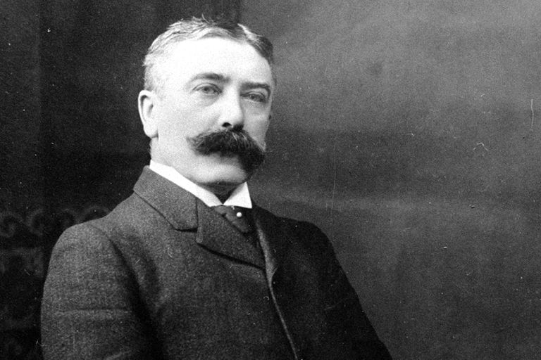 Swiss linguist Ferdinand de Saussure, considered a father of modern linguistics