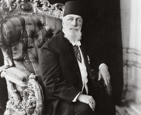 Portrait of the last Ottoman Caliph