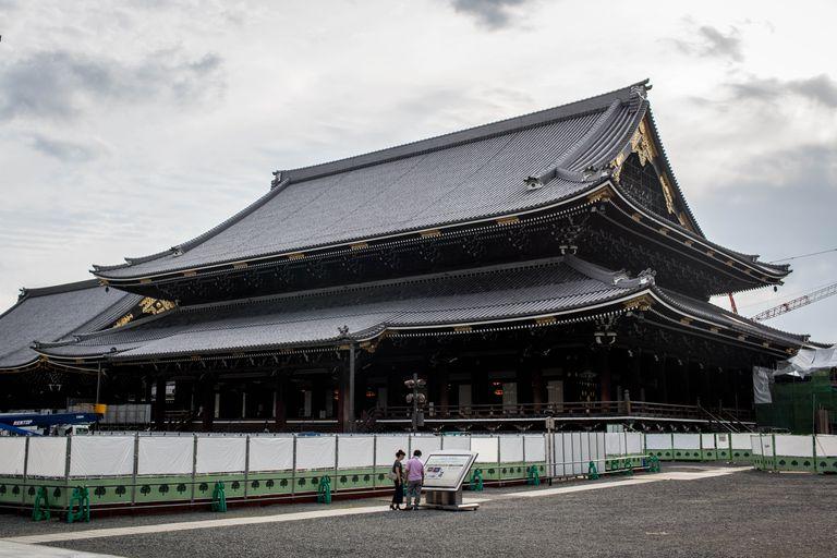 Higashi-Honganji Temple in Kyoto, Japan