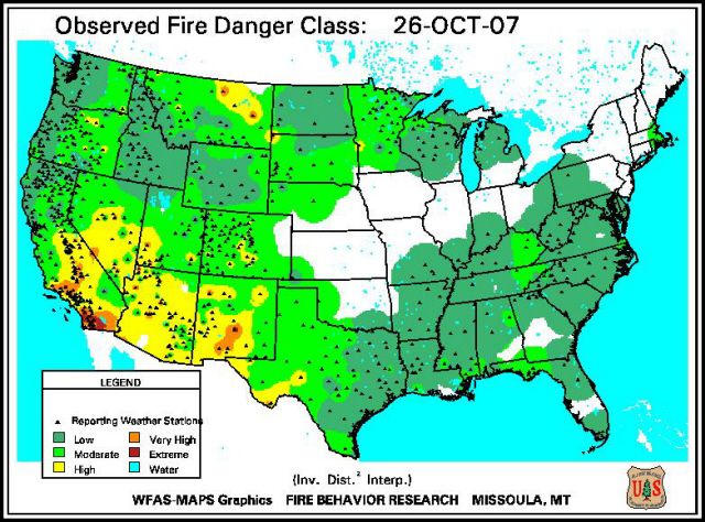 Using Forest Fire Weather to Prevent Forest Fires.