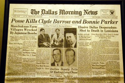 The Life And Crimes Of Bonnie Parker And Clyde Barrow Bonnie And Clyde Newspaper Headline My Hobby Essay In English also Business Essay Writing Service  Grant Writing Services For Non Profit Organizations