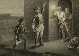 Ethan Allen at Fort Ticonderoga, 1775