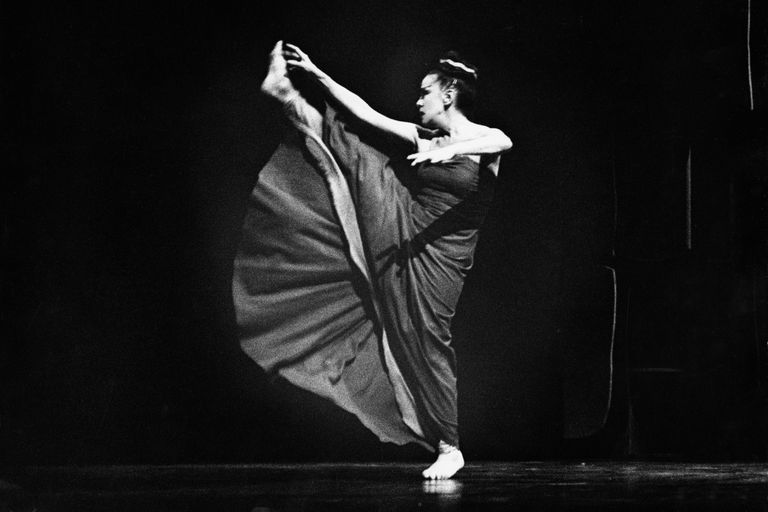 Martha Graham in Phaedra, 1966