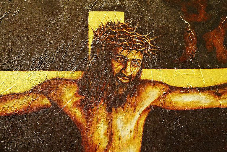 Painting Of Christ As Bin Laden Goes On Show