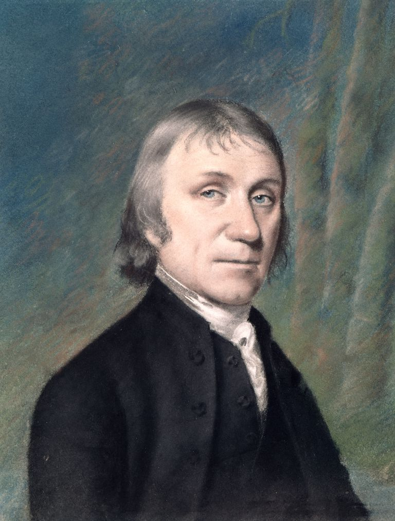 Portrait of Joseph Priestley (1733-1804), c.1797
