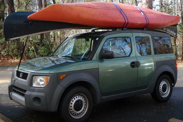 Kayak roof strap