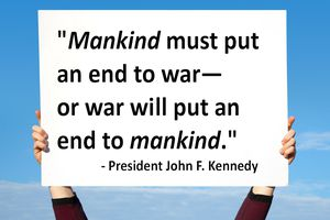 JFK quote that is an example of epanalepsis