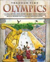 Cover of Olympics Through Time Children's Nonfiction Book