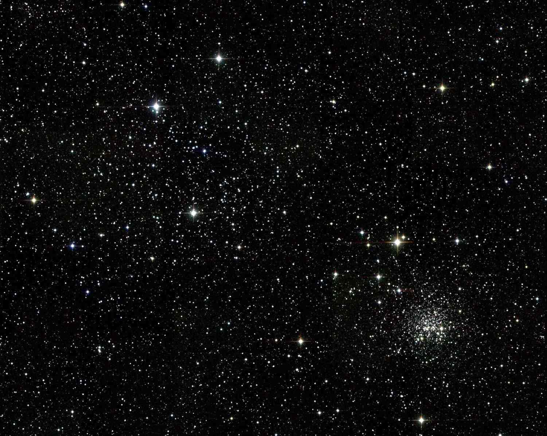 Open star cluster M35 in constellation Gemini.