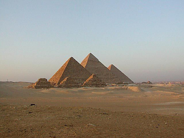 pyramids of giza essay example The great pyramid on the giza plateau in egypt, has been the object of scientific and archaeological study for over two hundred years in this modem era of discovery, it is the last of the seven ancient wonders of the world, and the only one remaining the great pyramid is singled out from all other.