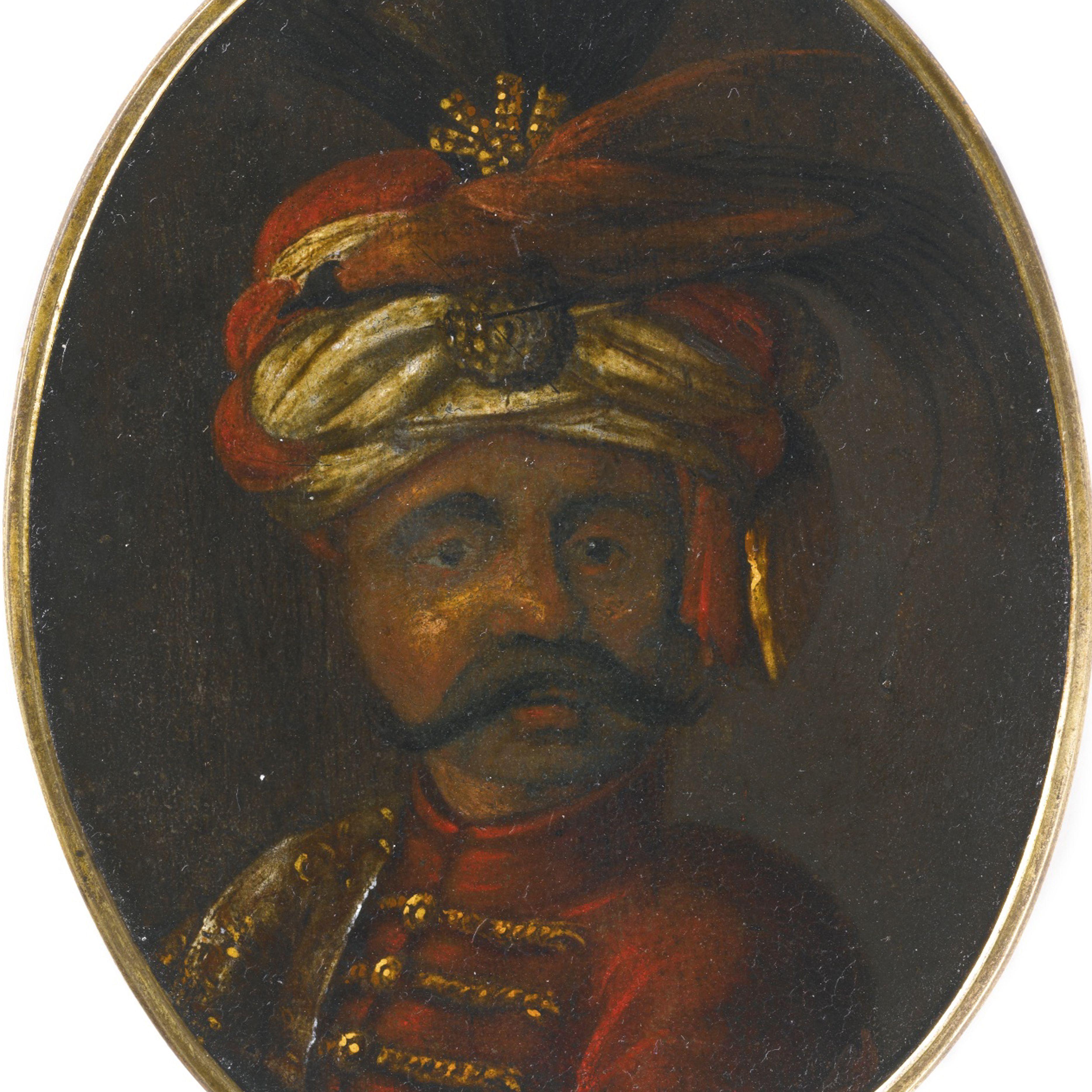 Suleiman II (1642-1691), Sultan of the Ottoman Empire. Artist: Anonymous