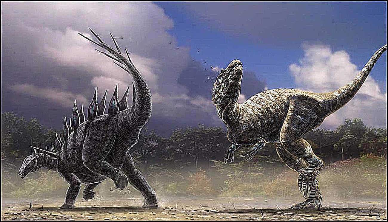 Allosaurus depiction