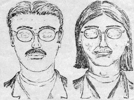 Potential Keddie Cabin murder suspects in a police sketch