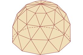 Illustration of Geodesic Dome