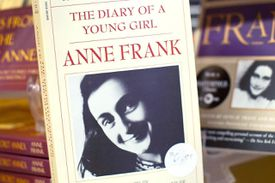 Anne Frank Diary book cover