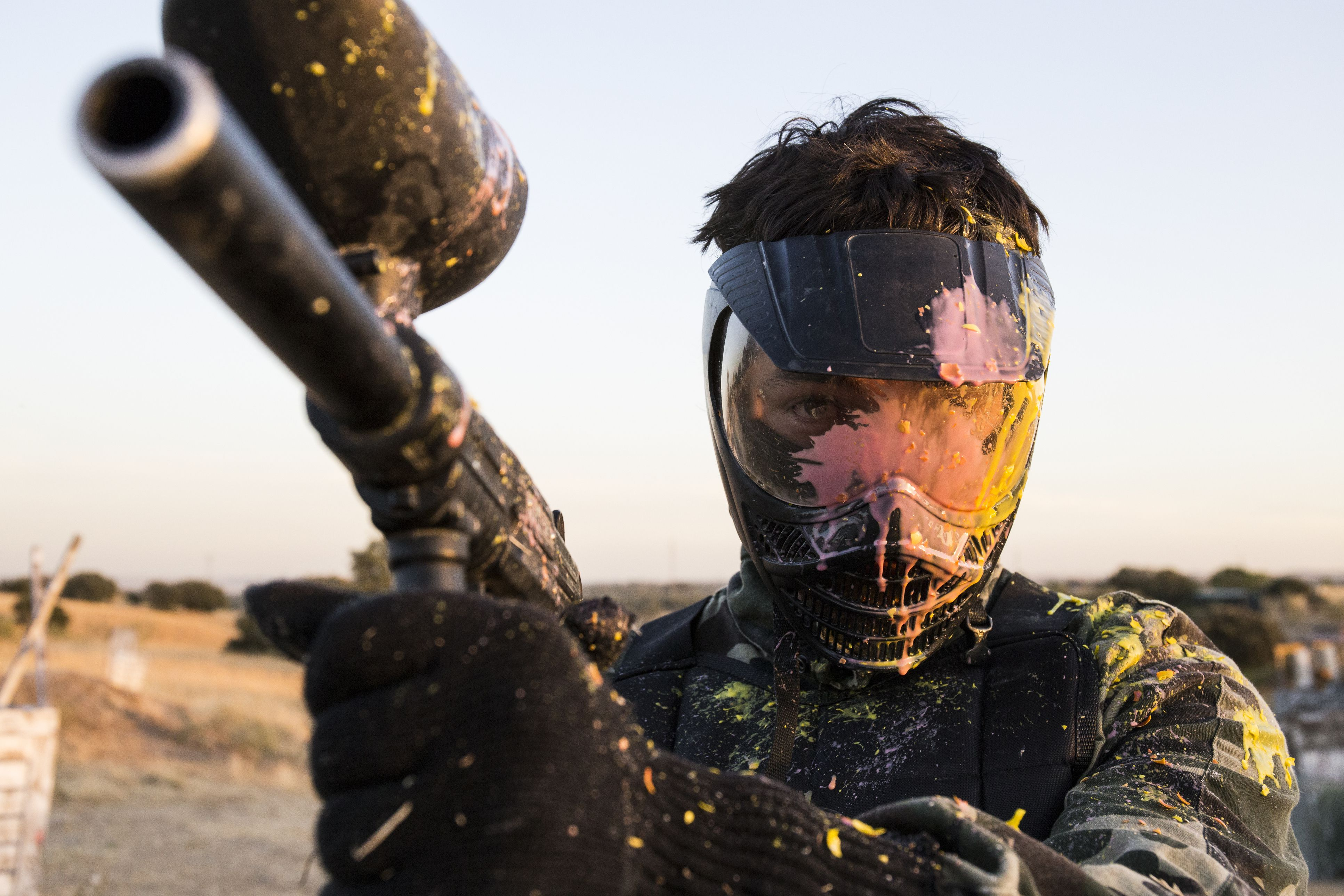Electronic Vs Mechancial Paintball Guns The Circuit Is Designed To Produce A Gun Using Technology Of Basics